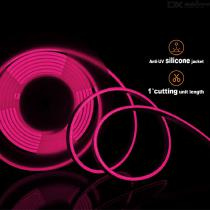ZHAOYAO-IP65-Waterproof-90W-DC-12V-2835-SMD-600-LED-Neon-Soft-LED-Strip-Pink-Light
