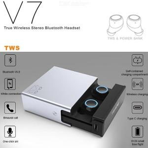 Bluetooth 5.0 Wireless Earphones TWS Noise Canceling HiFi Stereo Touch Control Earbuds With Mics Charging Case