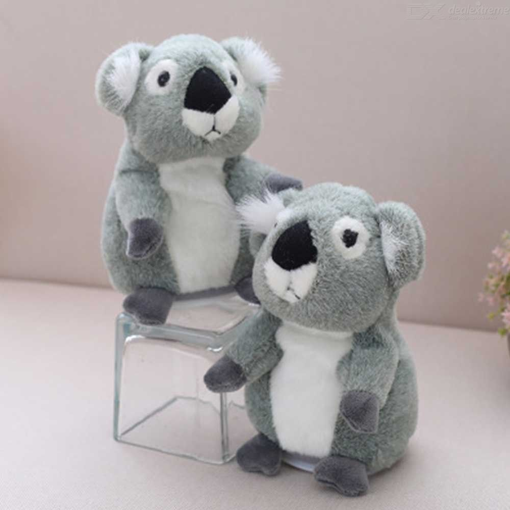 Plush Koala Stuffed Animal Electronic Talking Singing Pet Toy For Girls Baby Kids