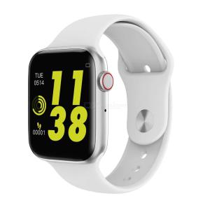 W34 Bluetooth Call Smart Watch ECG Heart Rate Monitor USB Charging Smartwatch For Android IPhone