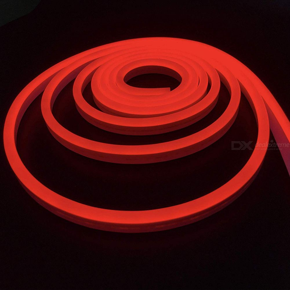 Waterproof   Light   Neon   Soft   LED   Red