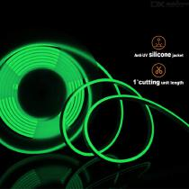 ZHAOYAO-IP65-Waterproof-90W-DC-12V-2835-SMD-600-LED-Neon-Soft-LED-Strip-Green-Light