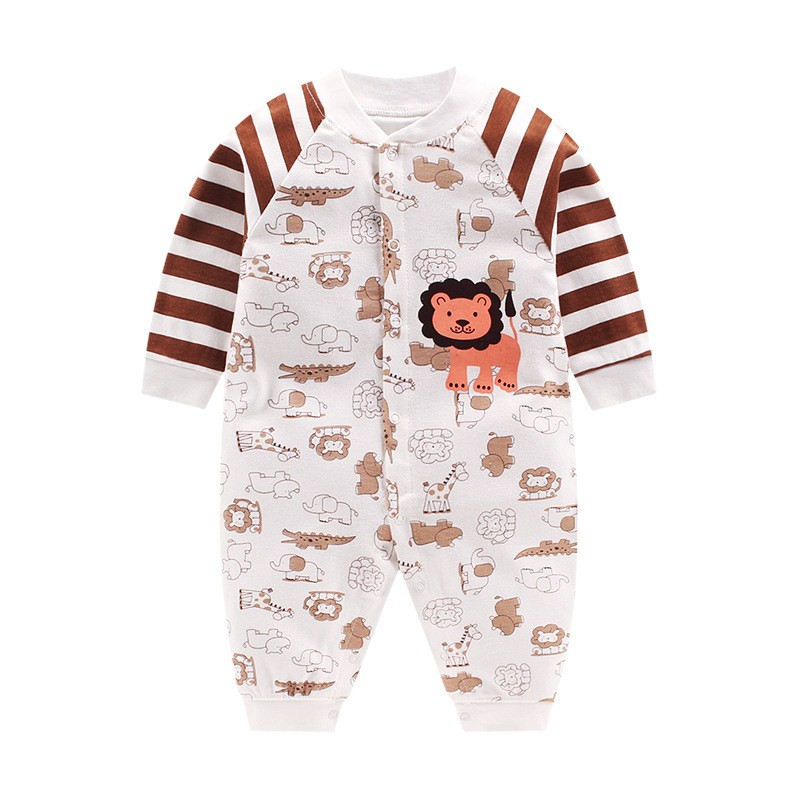 Fashion Newborn Baby Boy Clothes Casual Cotton Boys Romper Long Sleeve Warm Girls Clothing Infant Baby Childrens Clothe