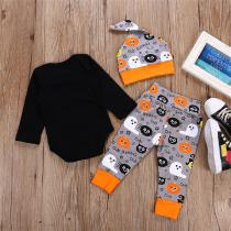 2018-Halloween-New-Romper-Childrens-Clothing-Baby-Hat-Trousers-Romper-3pcs-Cotton-Warm-Baby-Clothing