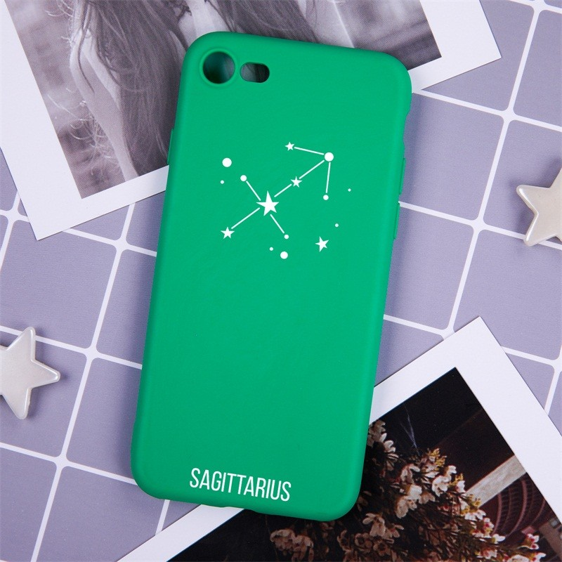 12 Constellation Soft Silicone Case For IPhone 6 Shockproof Phone Case For IPhone 7 Full Protection Phone Case For IPhon