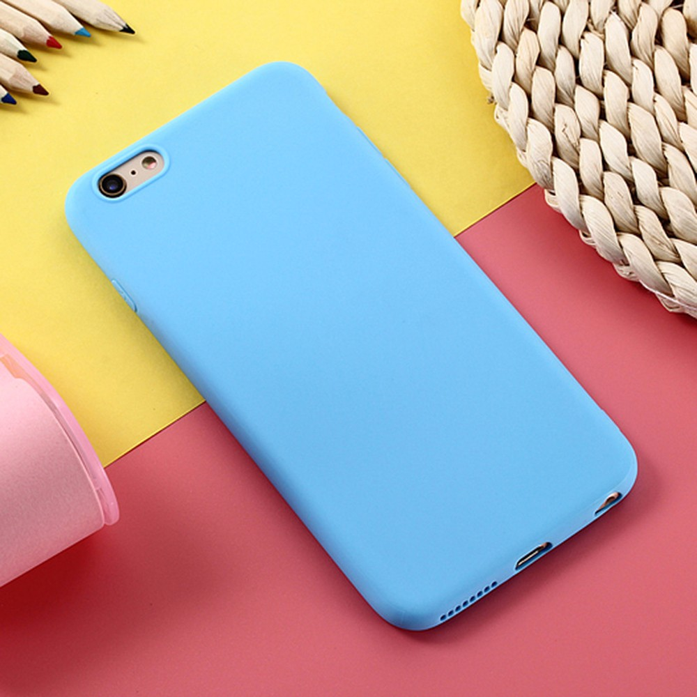 Silicone Phone Case For Samsung Galaxy S8 S8plus S7 S7 Edge Frosted Candy Color Shockproof Phone Case For Samsung S9 S9p