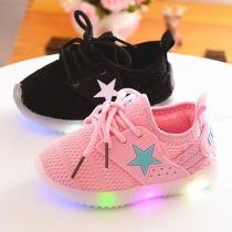 Fashion-Childrens-Luminous-Shoes-Mesh-Yarn-Soft-Girl-Casual-Shoes-LED-Luminous-Shoes-Non-slip-Wearable-Childrens-Shoes