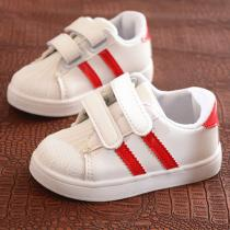 Autumn-Childrens-Shoes-New-Student-Childrens-Shoes-Shell-Head-Sports-Small-White-Shoes-Fashion-Boy-Flat-Shoes