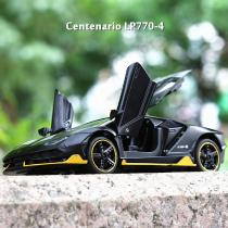 Jianyuan-Car-Model-Alloy-Car-Model-Pull-Back-Door-LP770-Super-Sports-Car-One-Generation