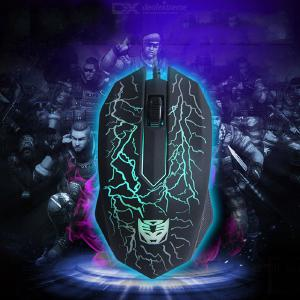 Optical 3 Buttons 3D USB Wired Gaming Game Mouse Pro Gamer Computer Mice For PC Adjustable USB Wired Gaming Mouse