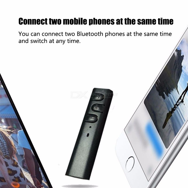 Fullbag AUX Audio Bluetooth Receiver 3.5mm Wireless Receiver Adapter Music For Car Speaker Headphone