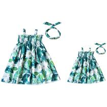 Summer-Mother-Daughter-Dresses-Family-Matching-Clothes-Mommy-And-Me-Clothes-Mom-And-Daughter-Dress-Floral-Print-Sundress