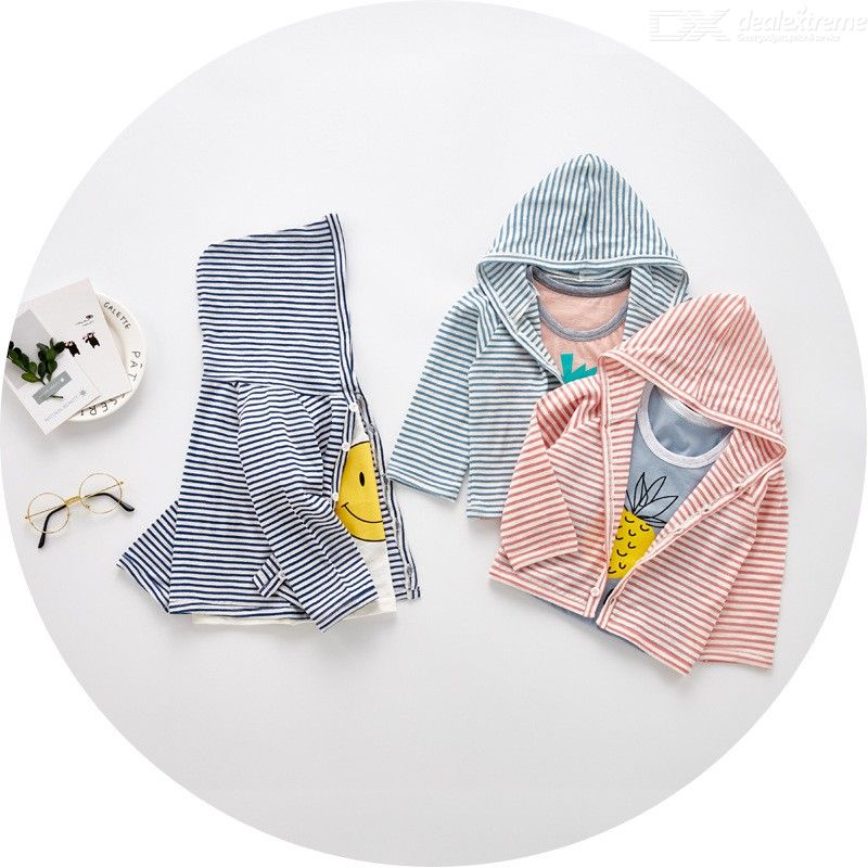 Kids T-shirt 2018 Autumn Sweatshirts Long Sleeve Cute Pattern Tshirts Baby Boys Girls Clothes Thin Coat Jacket With Hat