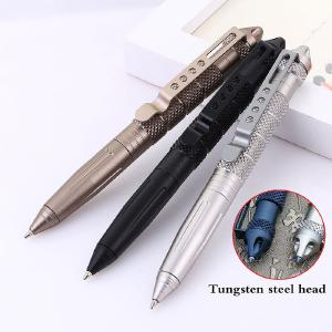High Quality Defence Personal Tactical Pen Self Defense Pen Tool Multipurpose Aviation Aluminum Anti-skid Portable