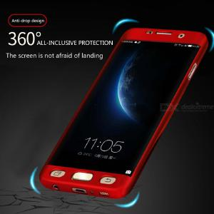 360 Full Protective Phone Case For Samsung Galaxy S7 S7 Edge S8 S8 Plus Luxury Shockproof Business Back Cover