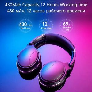 Professional Super Bass Bluetooth Headphones Wireless Over Ear Sport Headset Bluetooth 4.2 With Adjustable Microphone