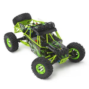 Weili 12428 2.4G Remote Control Electric Four-wheel Drive Climbing Car 1:12 Full-scale Off-road High-speed Car Drift Car