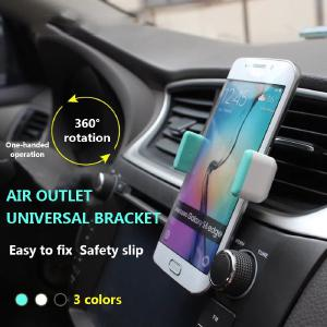 Universal Car Phone Holder Mini Car Outlet Holder For Iphone X XR 8 7 Huawei Xiaomi