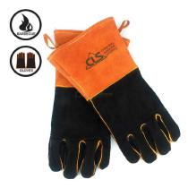 Multifunctional-BBQ-Barbecue-Gloves-Cowhide-High-Temperature-Resistance-Protective-Gloves-For-Outdoor-Camping