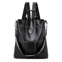 New-Fashion-PU-Leather-Backpack-Women-Shoulder-Bag-Wild-Travel-Casual-Anti-theft-Multi-function-School-Messenger-Bag