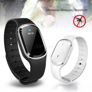Portable Ultrasonic Mosquito Repellent Bracelet Electronic Mosquito Killer Wristband For Kids Adult
