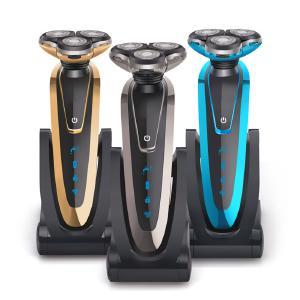 Men Rechargeable Wet And Dry Razor Shaver Electric Shaver Portable Electric Shaver Mens Beard Knife Body Wash