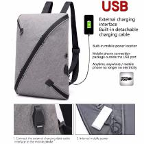 New-Solid-Color-Leisure-Travel-Backpack-16-Inch-Business-Men-Computer-Bag-Waterproof-Anti-theft-Multifunction-Backpack