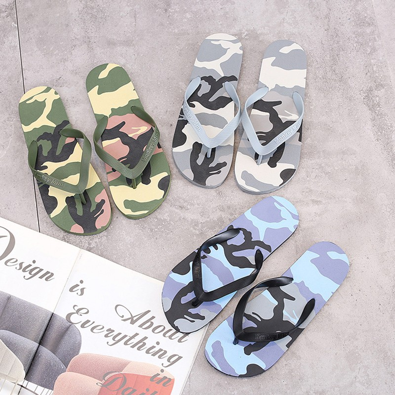 Camouflage | Slipper | Fashion | Summer | Sandal | Beach | Flop | Flip | Shoe | Men