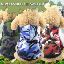 Dog Clothes Winter Pet Jacket Cotton Warm Camouflage Vest For Small Dogs Puppy Coat French Bulldog Clothing Cat Suit