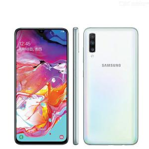 Samsung Galaxy A70 A7050 Mobile Phone 6.7 Inch 8GB 128GB Snapdragon 675 Octa Core 20:9 Water Drop Screen NFC - US Plug