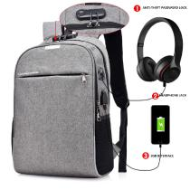 New-USB-Charging-Backpack-Password-Lock-Anti-theft-Backpack-Men-Business-Travel-Bag-With-Earphone-Hole-Student-Boys-Bag