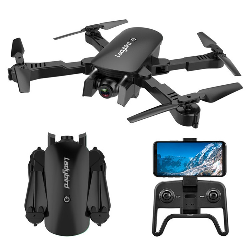 R8 Cross-border Drone Folding Professional HD 4K Aerial Four-axis Aircraft Optical Flow Following Dual Camera Aircraft