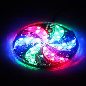 Motorcycle Electric Car WISP Conversion Lamp Scooter Decorative Lights Colorful Flashing Fan Lights Small Windmill Lamp