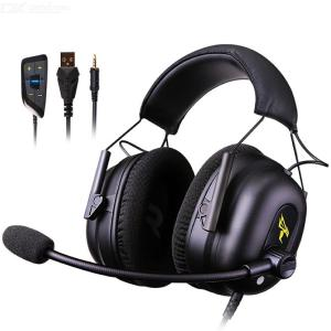 Somic G936 Gaming Headset Earphones 3.5mm USB Bass Stereo Headphones With Mic Microphone PC Laptop Computer PS4 Xbox