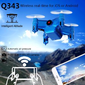Weili Q343 Small Flying Saucer Four-way With Six-axis Gyroscope Four-axis Aircraft