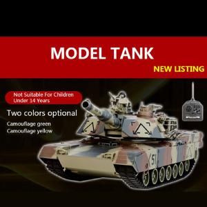 Ring Qi 781 Wireless Remote Control Military Model Remote Control Tank Can Play Bullets Children Charge Toy Car Wholesale