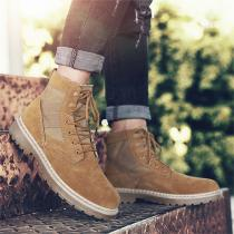 Martin-Boots-Autumnwinter-New-Mens-Lace-Up-Boots-Suede-Leather-Unisex-Style-Retro-High-Top-Casual-Shoes-Large-Size