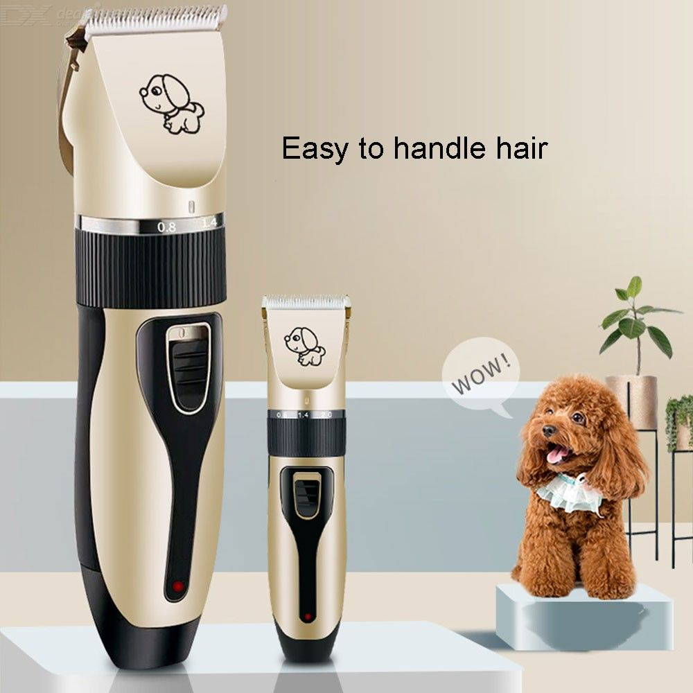 Mirror-Ac Pet Clippers-professional Electric Pet Hair Shaverwith 4 Guard Combs,cordless /& Rechargeable,cat Dog Hair Trimmer Low-noise Electric Pet Hair Clipper Shaver Set
