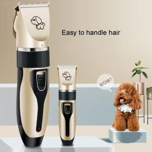 Professional Electric Pet Clippers USB Charging Pet Hair Shaver With 4 Guard Combs For Dogs Cats Hair Grooming Trimming