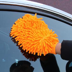 New Auto Accessories Thickened Chenille Brush Cleaning Gloves Microfiber Towel Car Care Detailing Gloves Car Clean