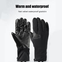 Winter-Heated-Gloves-Outdoor-Motorcycle-Riding-Waterproof-Motocross-Gloves-Leather-Plus-Velvet-Thick-Sheepskin