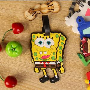 Luggage Tag Cartoon Travel Accessories Aircraft Boarding Pass Consignment Sign PVC Luggage Box Listing Portable Label