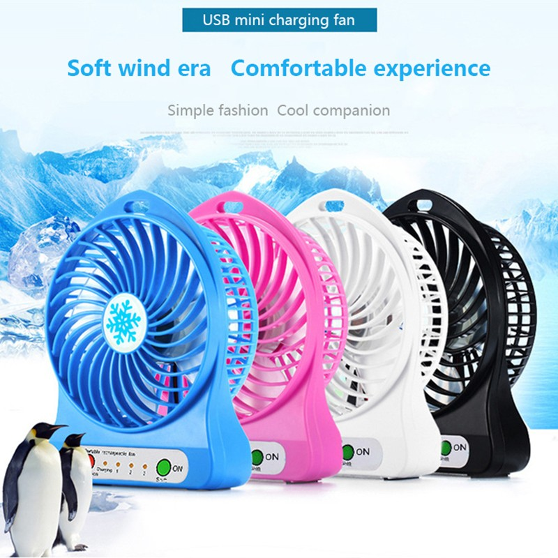 Mini  Fans Usb Charging Small Fan Student Outdoor Mini Portable Handheld Charging Small Fan