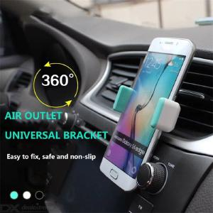 Portable Car Phone Holder 360° Rotating Mobile Phone Holder For IPhone XIAOMI Samsung HUAWEI Mobile Phone Universal Brac