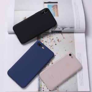 Candy Color For Iphone X 6 7 8 5 Phone Case Macaron Solid Color Matte TPU Silicone Cases For IPhone XR XS Max 8 7 6 6S Plus Capa