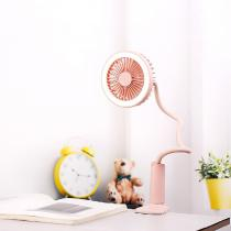 New-Creative-Zigzag-Usb-Charging-Clip-Fan-With-Night-Light-Mobile-Handheld-Portable-Mini-Fan-Portable