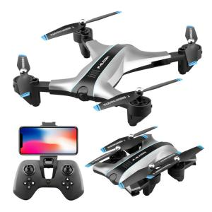 The New 2 Generation Resistant Folding Folding Remote Control Aircraft Aerial Drone Four-axis Aircraft Charging Boy Childrens T