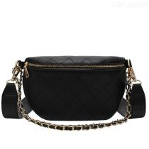 Casual-Leather-Fanny-Pack-Luxury-Brand-Women-Waist-Bag-New-Rhombic-Chain-Messenger-Bag-New-Fashion-Band-Belt-Mobile-Phone-Bags