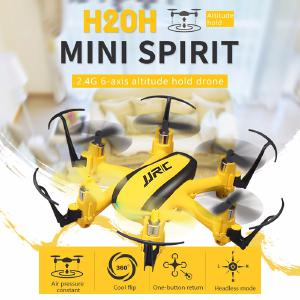 JJRC Indoor Mini Six-axis Aircraft Fixed Height Function Pattern Rotating Headless Mode Drone Toy