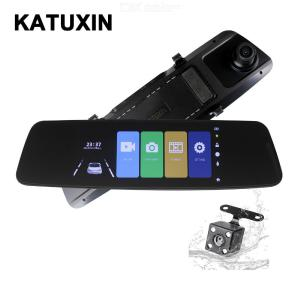 KATUXIN H16A Car DVR FHD 1080P 6.9 inch IPS Screen Car Recorder Camera Dual Lens Rearview Night Vision 170 Degree Dash Cam